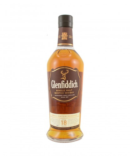 Glenfiddich 18 Years Old / Small Batch | 0,7L | 40%