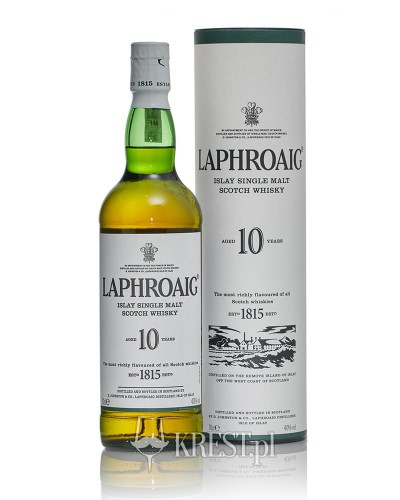 Laphroaig 10 Years Old Islay Single Malt | 0,7L | 40%